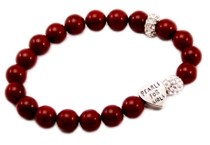 Ruby Bracelet in Red