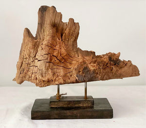 Driftwood Art on Stand