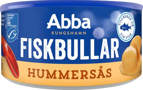 Fiskbullar i Hummerås - Fish Dumplings in Lobster Sauce