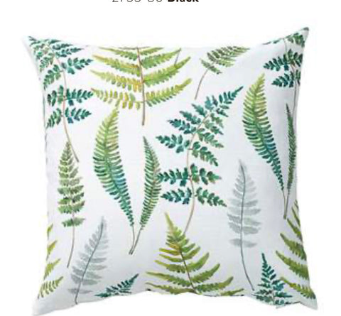 Kuddfodral 'Fräken' - Cushion Cover 'Ferns'