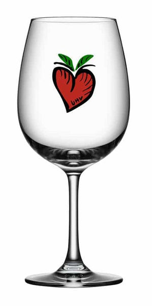 Wine Glass - 'Friendship' - A series by Ulrica Hydman Vallien