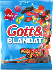 Gott & Blandat Favorit Mix - Mixed Favourite Candy