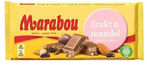 Chokladkaka Frukt & Mandel - Chocolate Bar Fruit and Almond