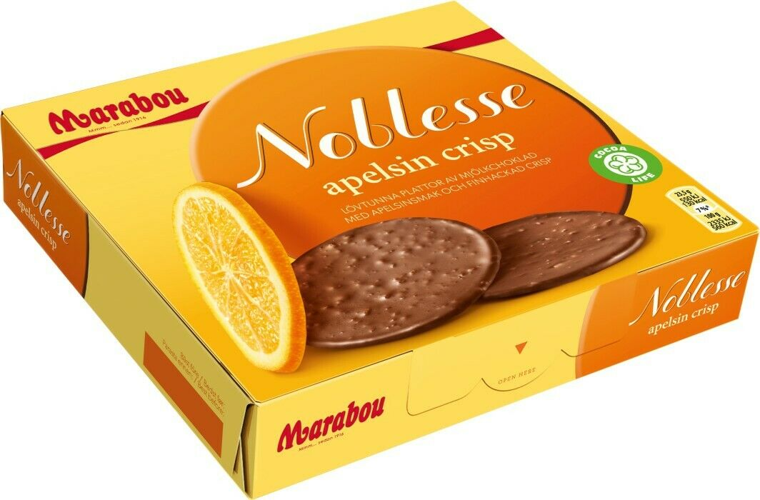 Noblesse Apelsin - Noblesse Chocolate Orange Crisp