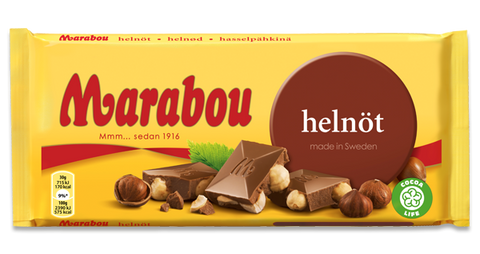 Chokladkaka Helnöt - Whole Nut