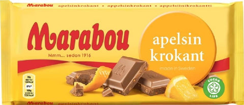 Chokladkaka Apelsinkrokant - Chocolate Bar Orange Crisp