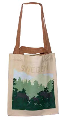 Tygkasse med Älg - Moose Shopping Bag