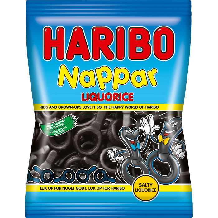 Nappar Lakrits - Pacifiers Licorice