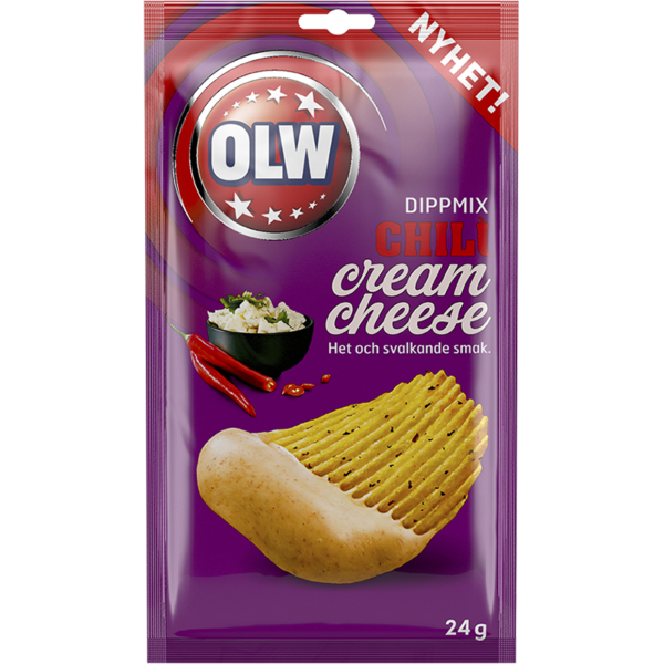 OLW - Dippmix - Chili/Mjukost - OLW - Dip mix - Chili/Cream Cheese