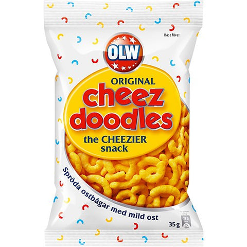 OLW Ostbågar Original - Cheez Doodles - LITEN/SMALL