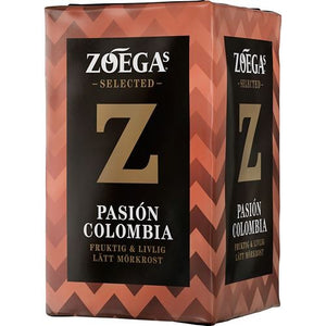 Kaffe - Zoega Pasión Colombia (mellanmörktrost) - (Medium dark roast)
