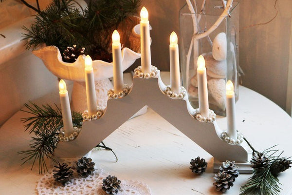 Reservlampor för Luciakrona or Adventsljusstake -Replacement bulbs for Lucia Crown or Electric Advent Candleholder