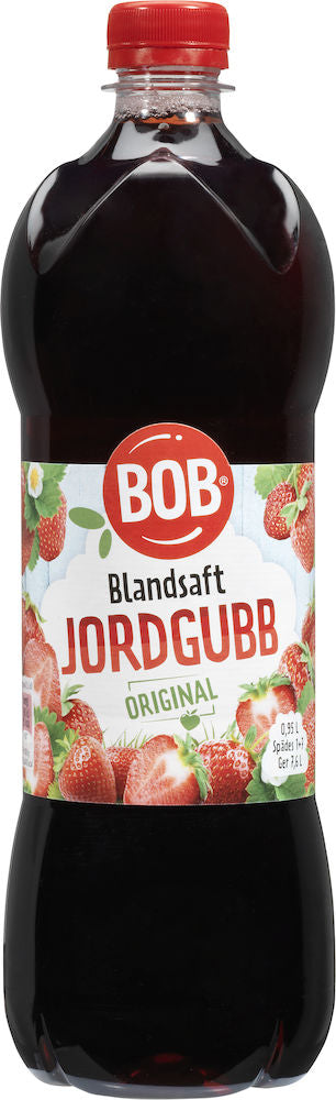 Jordgubbsblandsaft- Strawberry Syrup Blend