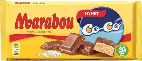 Chokladkaka CoCo - Chocolate Bar Coconut