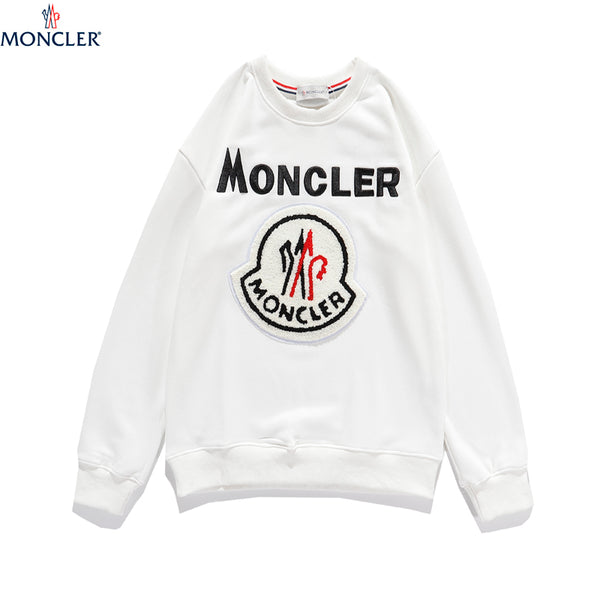 White Cotton Moncler Sweater