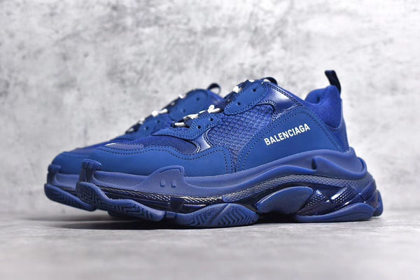 Balenciaga Royal Blue Triple S Sneaker
