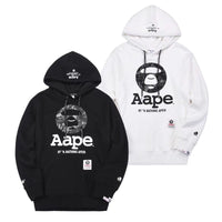 Bathing Ape Negative Hooded Pullover