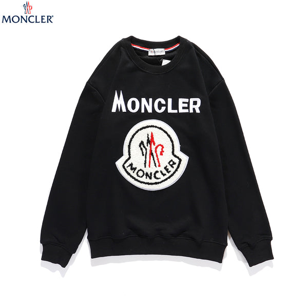 Black Cotton Moncler Sweater