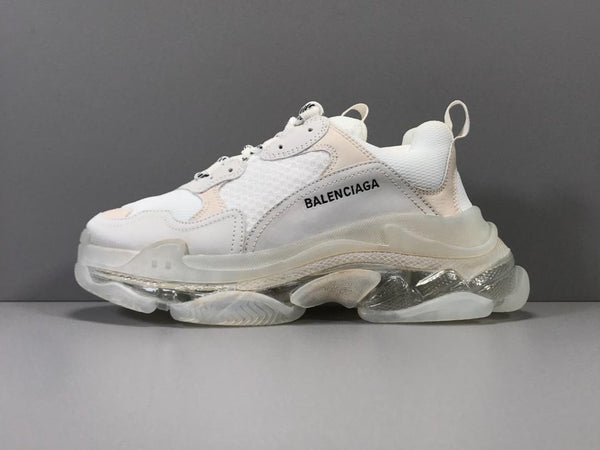 Bubble Sole - White Triple S Sneaker II