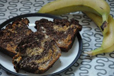 Chocolate Banana Honey Bread