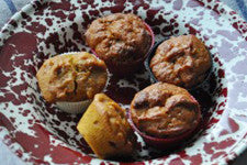 Honey & Pumpkin Mini Muffins