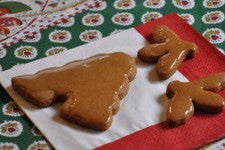 Gingerbread w/ Honey Glaze