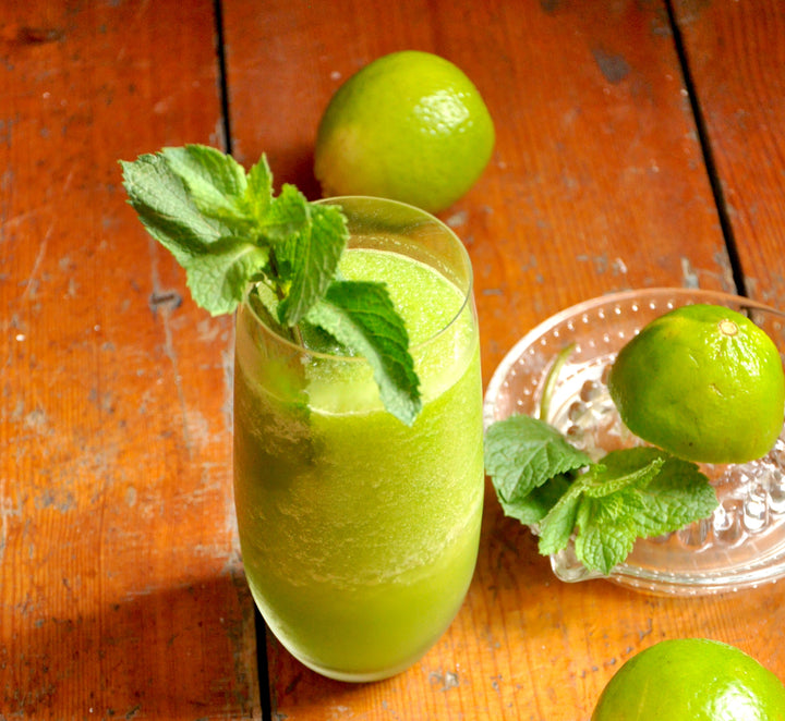 Frozen Mojitos with Lehua Honey