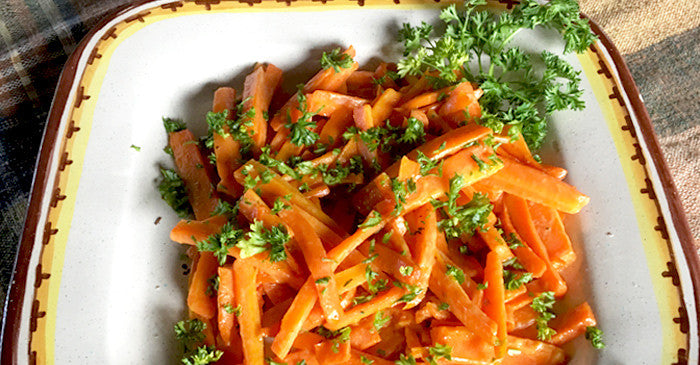 honey mustard deviled carrots recipe