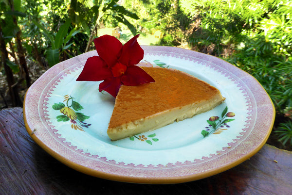 honey flan recipe