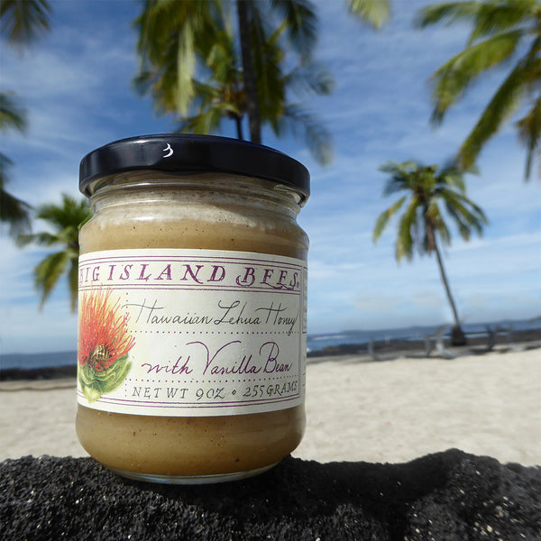 lehua with vanilla bean honey