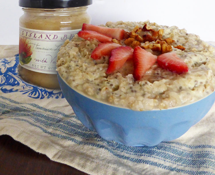lehua with vanilla bean oatmeal recipe