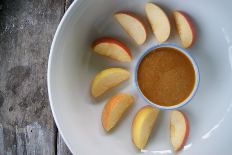raw organic honey caramel apple recipe