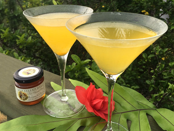 lilikoi passion fruit honey cocktail recipe