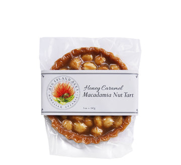 Honey Caramel Macadamia Nut Tart