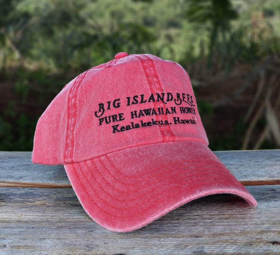 Big Island Bees Red Unisex Baseball Hat
