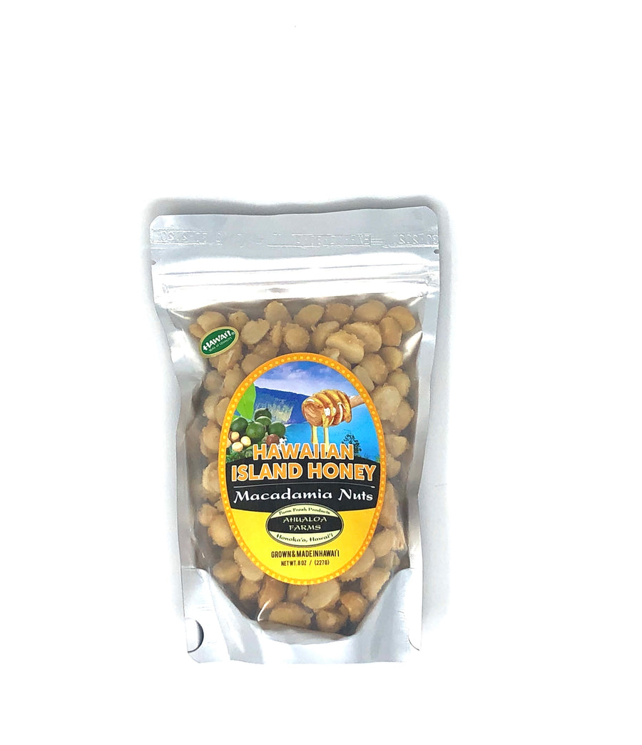 Honey Macadamia Nuts