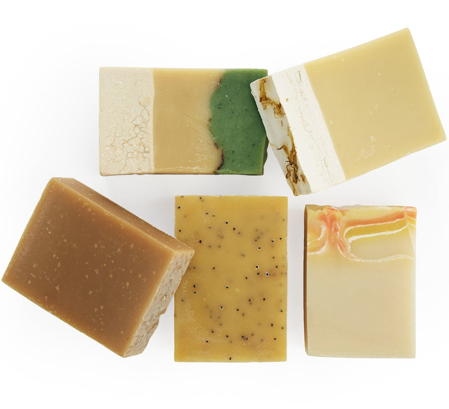 all natural bar soap made with honey
