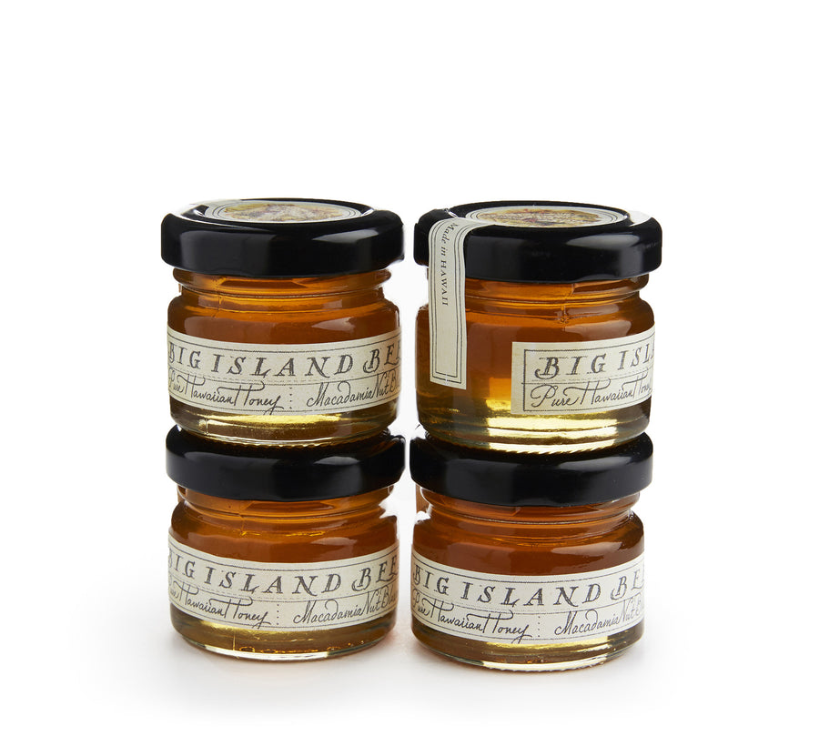 1 oz honey jars of macadamia nut honey