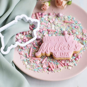Happy Mother's day fondantstempelset