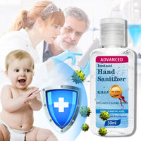 50ml*2 keep your hands clean Hand washing Portable Household Cleaning Gentle Hydration Hands Cleaning Soothing Gel Protection