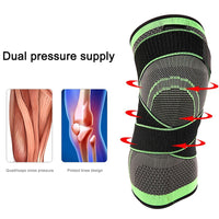 Knee Support Professional Protective Knee Pad Breathable Bandage Knee Brace Support Belt Health Care