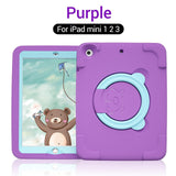 PZOZ Lovely Case For iPad 2019 Air 2 Pro 9.7 10.2 inch Mini 1 2 3 4 5 Holder EVA Shockproof Kids Soft Non-toxic Children Case