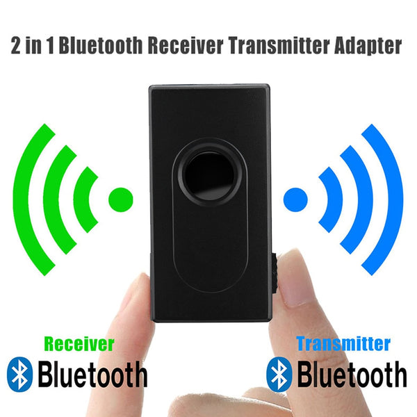Bluetooth V4 Transmitter Receiver Wireless A2DP 3.5mm Stereo Audio Music Adapter for TV Phone PC Y1X2 MP3 MP4 TV PC 2019