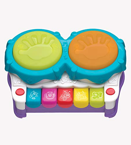 Playgro 2 in 1 Light Up Music Maker for Baby Infant Toddler, Playgro is Encouraging Imagination with STEM/STEM for a Bright Future - Great Start for a World of Learning