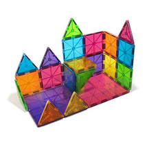 Load image into Gallery viewer, Magna-Tiles Magnetic Building Toys, Clear Colors Set, Multi Color (32 Pieces)