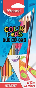 Maped Color'Peps Color Pencil Set - Pack of 24