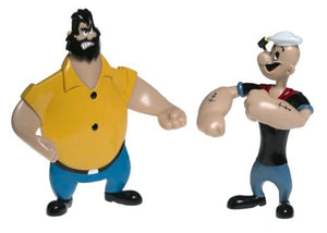NJ Croce Retro Popeye Bendable Figures Set, Multi Color