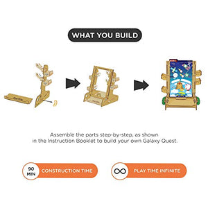 Smartivity Payload Control Galaxy Quest STEM STEAM Educational DIY Building Construction Activity Toy Game Kit, Easy Instructions, Experiment, Play, Learn Science Engineering Project 6+with 6 Missions