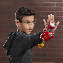 Load image into Gallery viewer, MARVEL Nerf Power Moves Avengers Iron Man Repulsor Blast Gauntlet Nerf Dart-Launching Toy for Kids Roleplay, Toys for Kids Ages 5 and Up