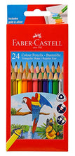 Load image into Gallery viewer, Faber-Castell Triangular Colour Pencils - Pack of 24 (Assorted)
